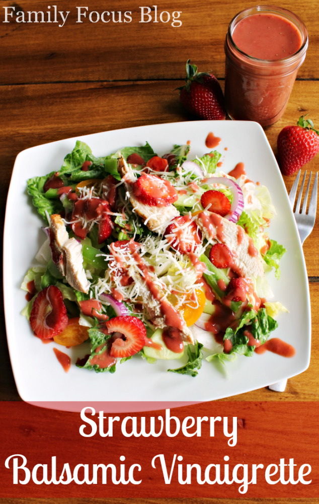 Strawberry Balsamic Vinaigrette Recipe