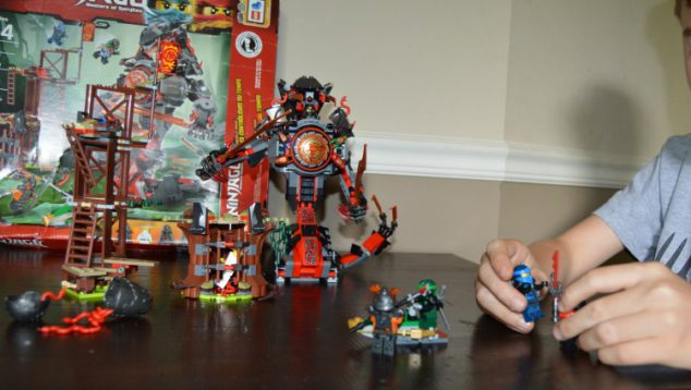 Dawn of Iron Doom LEGO set