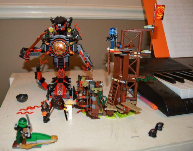 Lego Ninjago Masters Spinjitzu