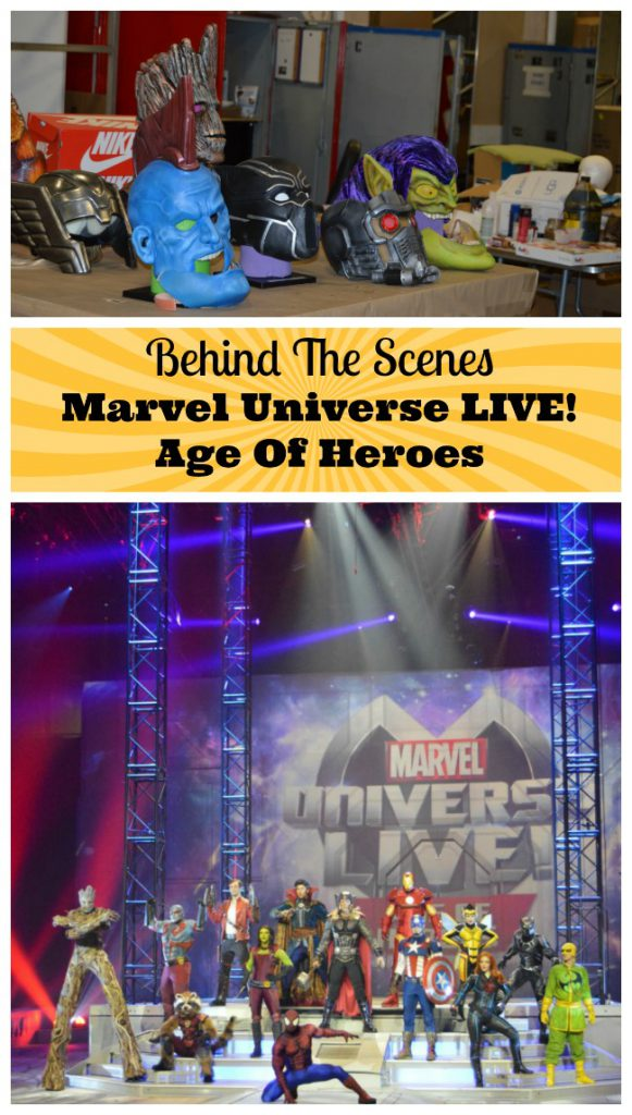 Marvel Live Universe Age Of Heroes