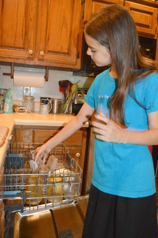 age appropriate chores for children