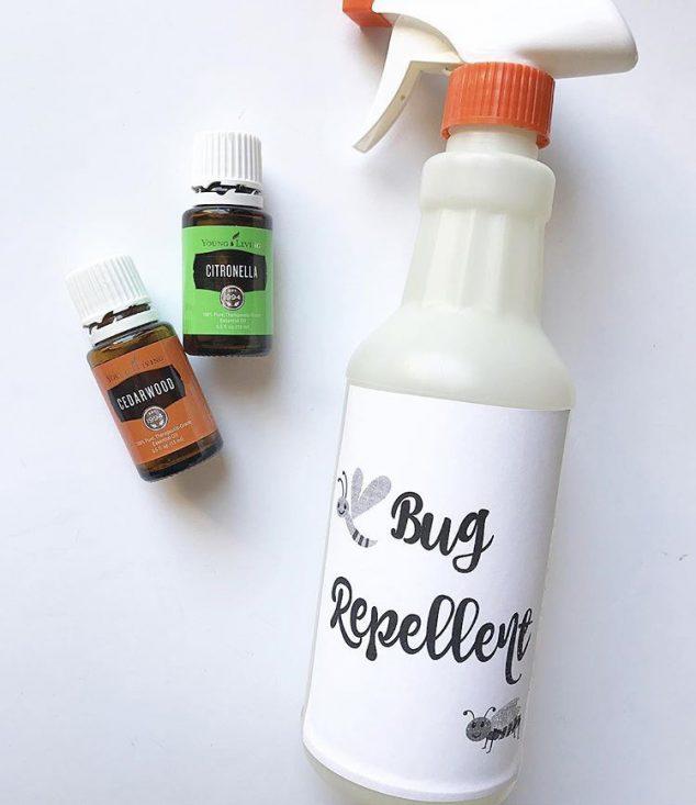 natural mosquito repellent recipe