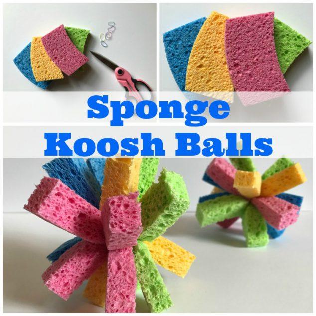 Kids Sponge Balls