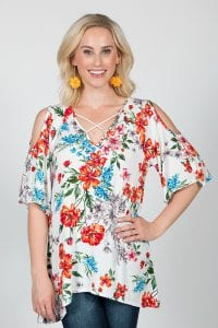 Cold Shoulder Tops Women
