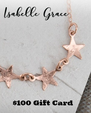 Isabelle Grace Jewelry Giveaway