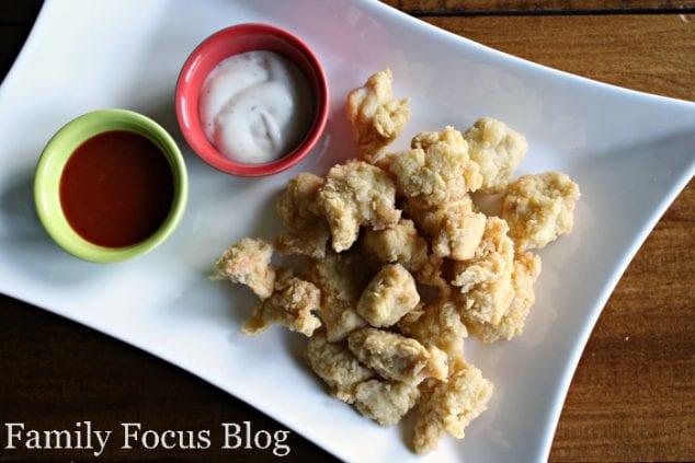 Homemade Gluten Free Popcorn Chicken
