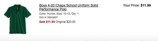 Boys Polos