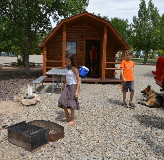Cortez Mesa Verde KOA Camping Cabins