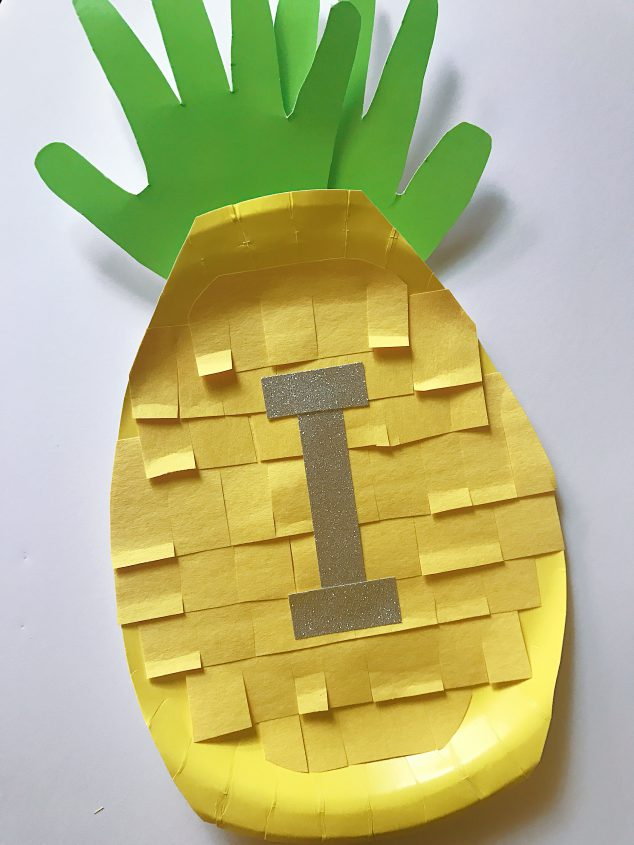 cute pineapple craft