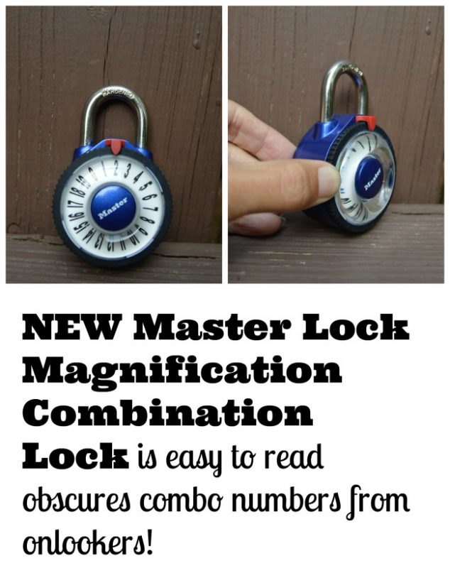 easy to read Combination Lock