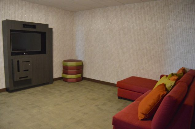 hotel game room