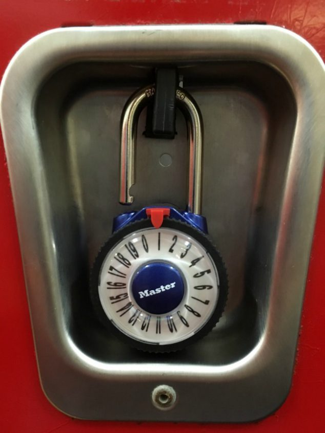 large number combination lock