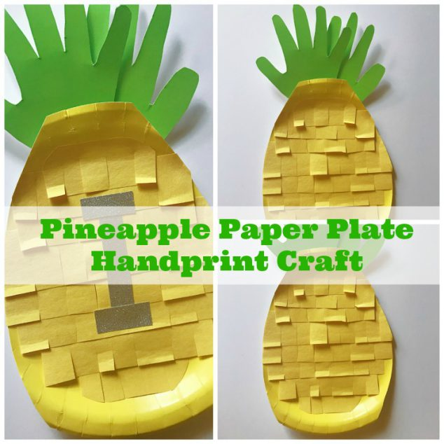pineapple crafts for toddlers