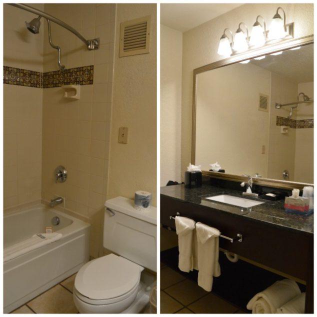 seville plaza hotel bathroom