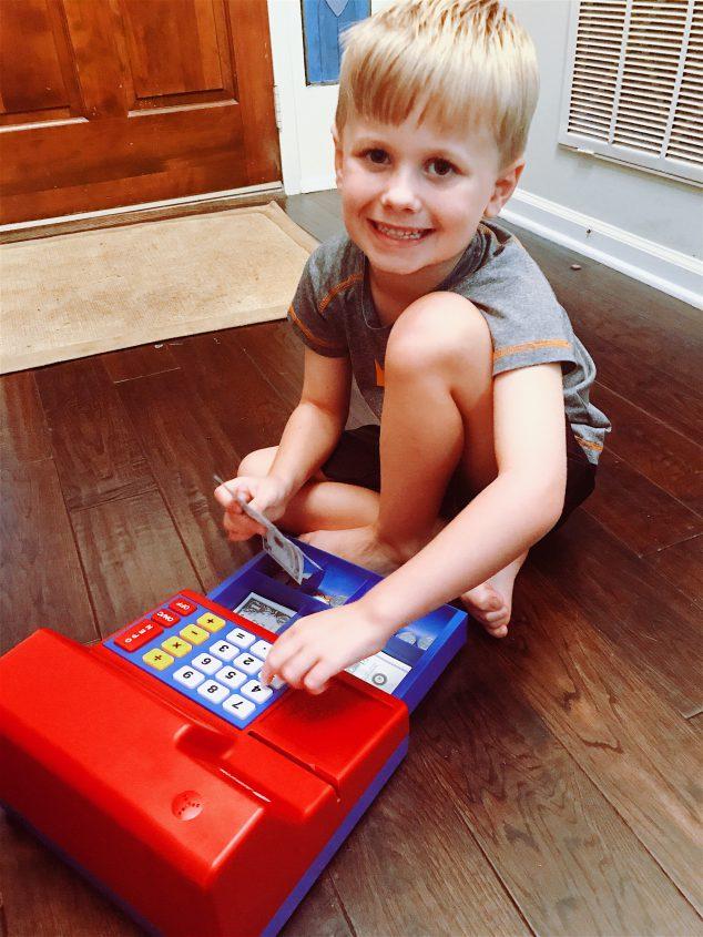 cash register kids