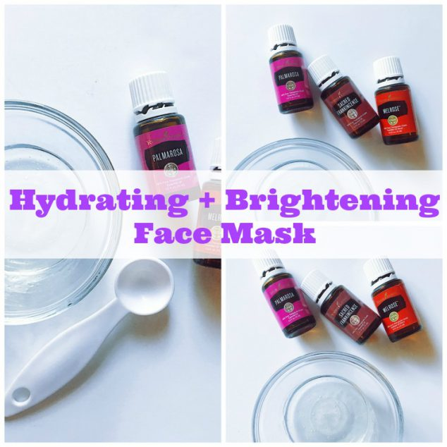 Hydrating and Brightening Face Mask
