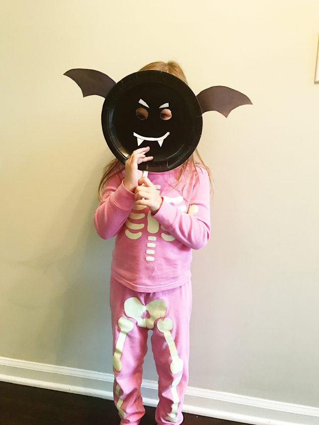 paper plate halloween crafts kids