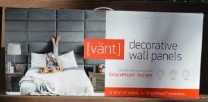 vant wall panels in box