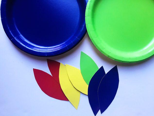 paper plate crafts kids