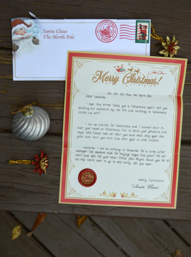 Letters From Santa Claus