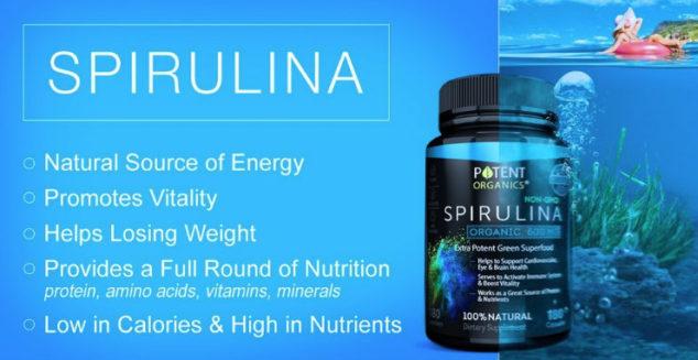 buy organic spirulina