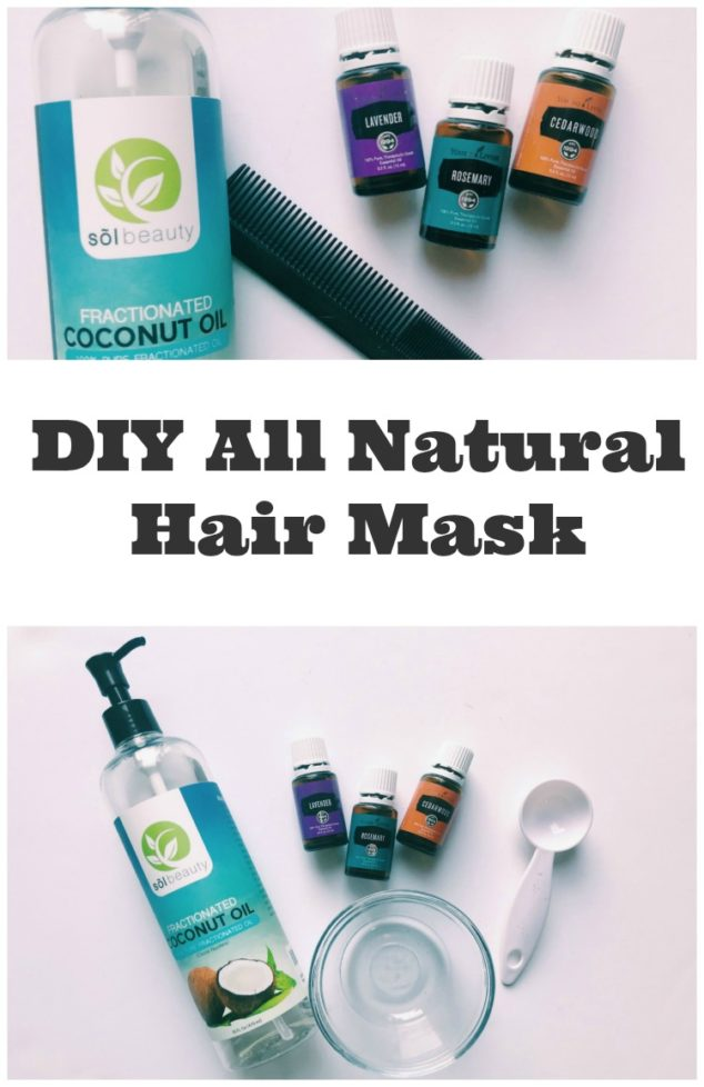 coconut oil hair mask recipe