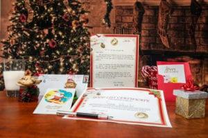 santa letters kids