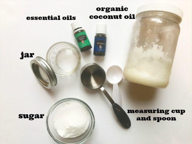 make sugar body scrub