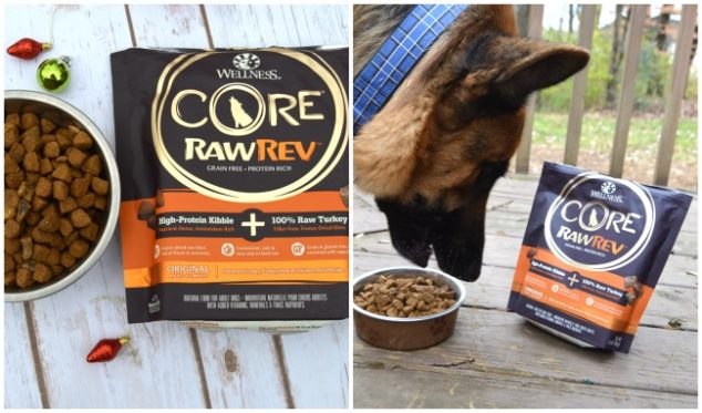 Core high protein dog food