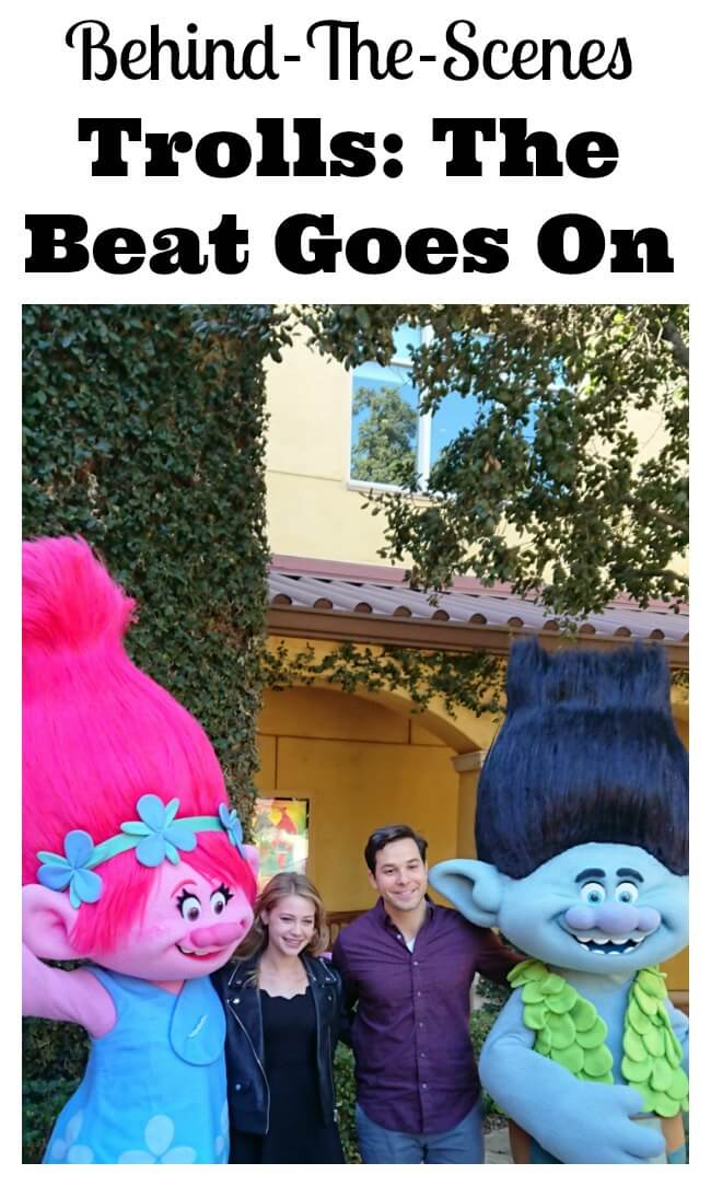 Behind-The-Scenes Of DreamWorks Trolls The Beat Goes On