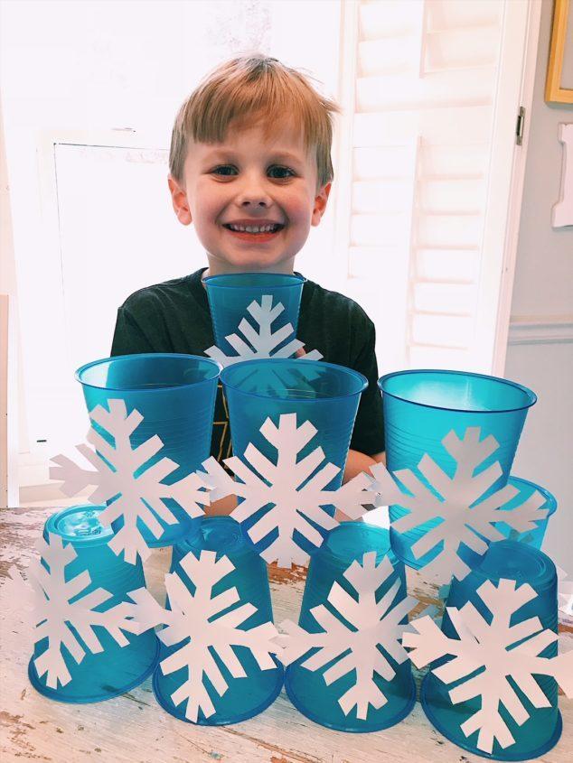 snowflake craft game