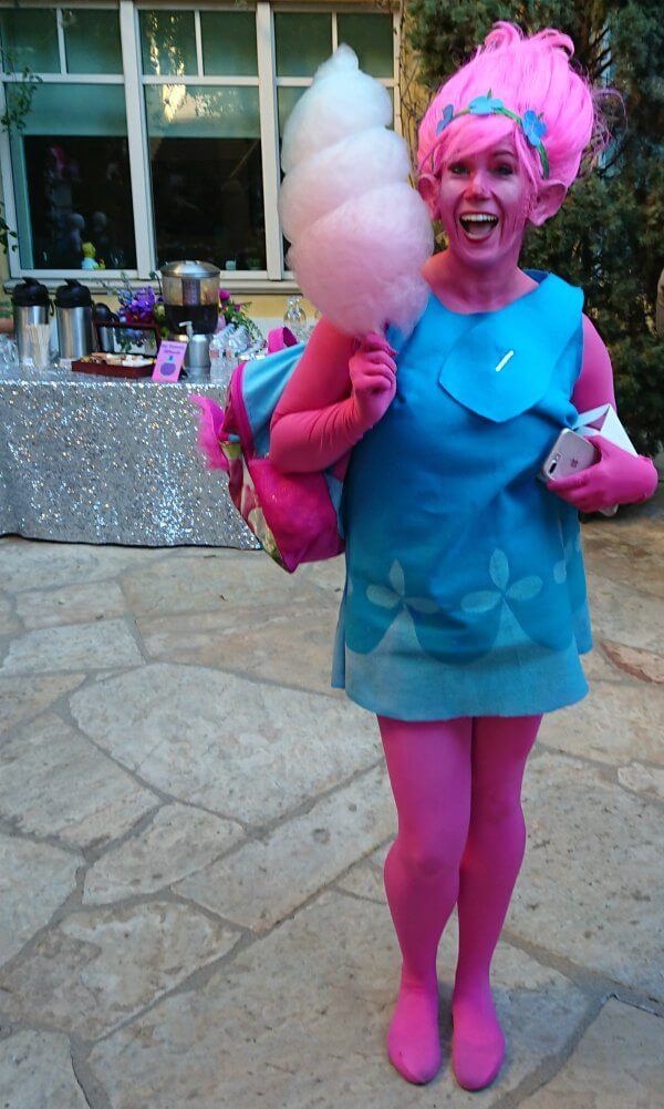 Homemade Trolls Costume