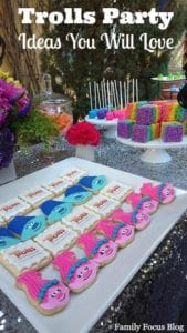Trolls Birthday Party Ideas