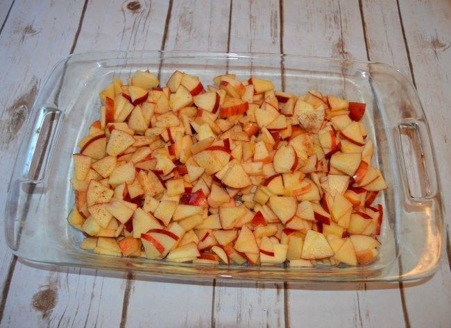 fresh apples for crisp