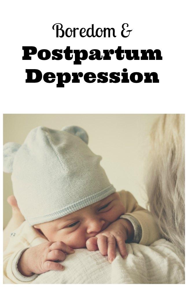 signs postpartum depression
