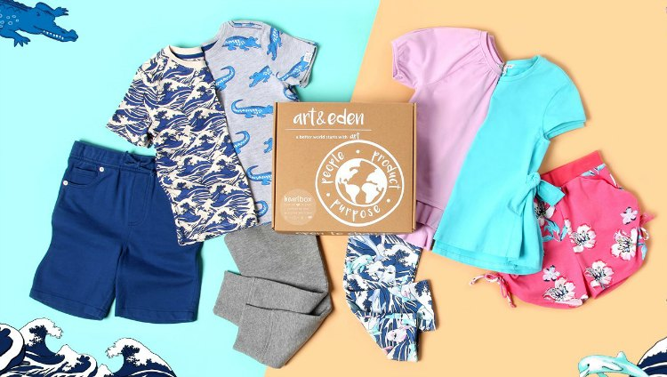organic designer children's clothing