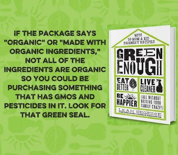 why eat organic food