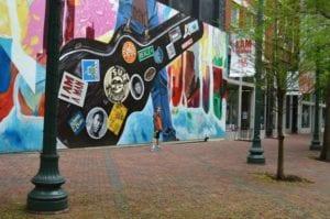 Downtown Memphis street art