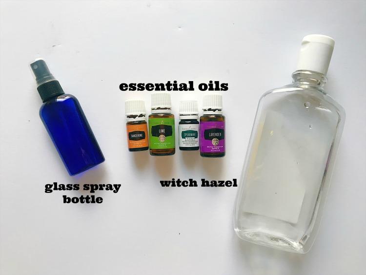 homemade body spray recipe