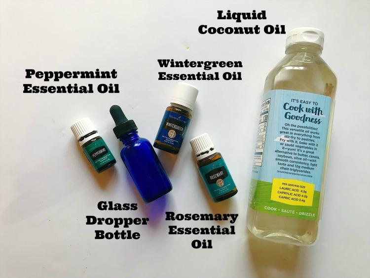 make essential oil blend for energy