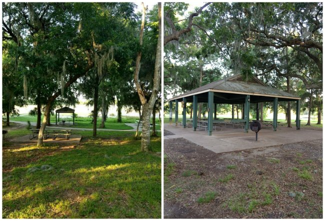 Picnic Pad and Picnic Pavilion