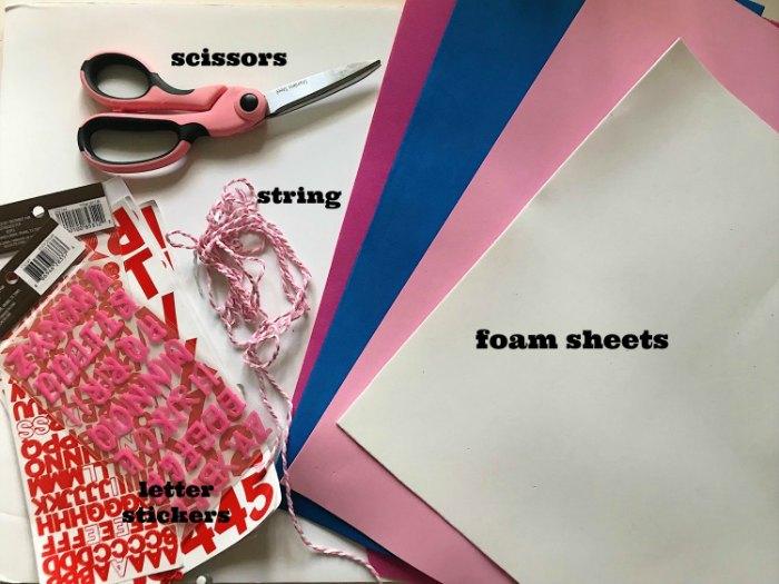 DIY photo album supplies