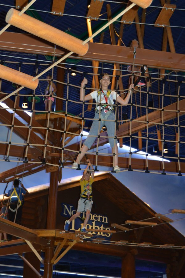 Ropes Course Great Wolf Lodge
