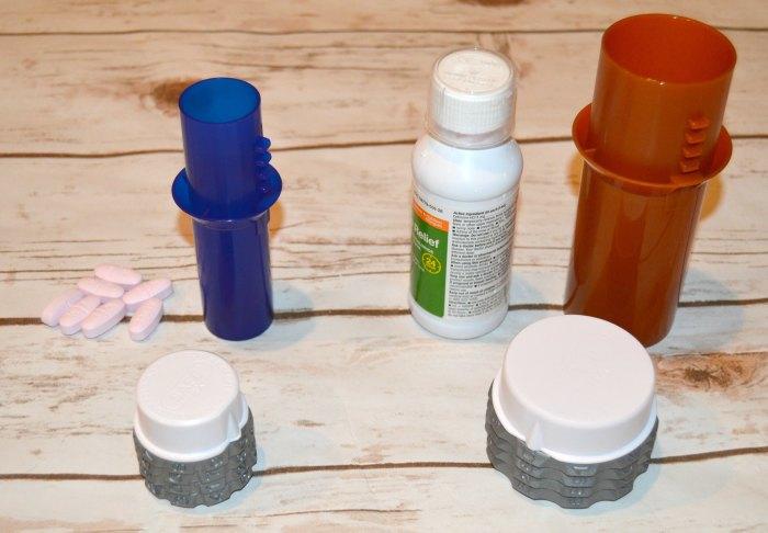combination lock pill bottle