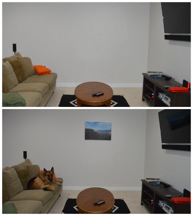 photos printed canvas