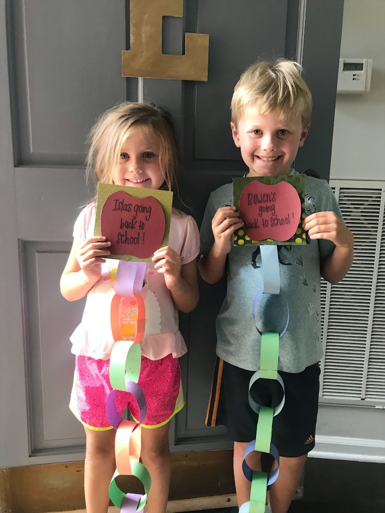 back to school paper craft