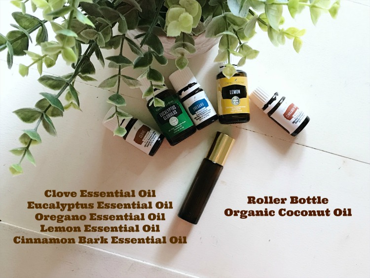 healthy essential oil roller