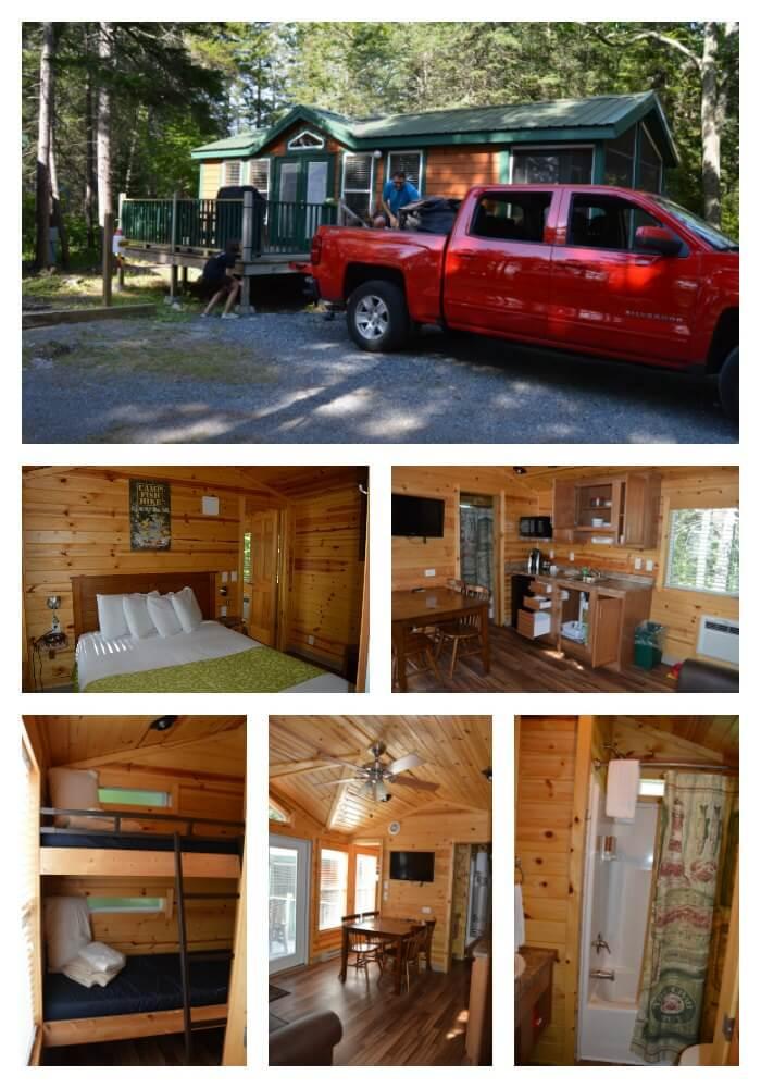 Bar Harbor Oceanside KOA cabin review