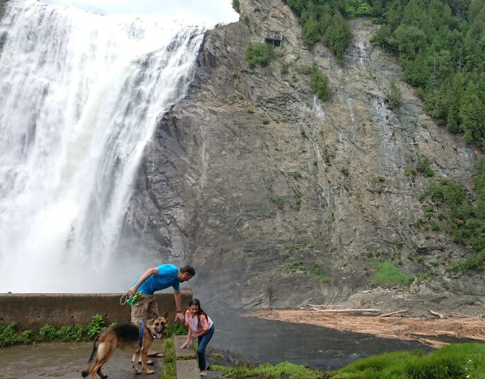 Montmorency rock climbing