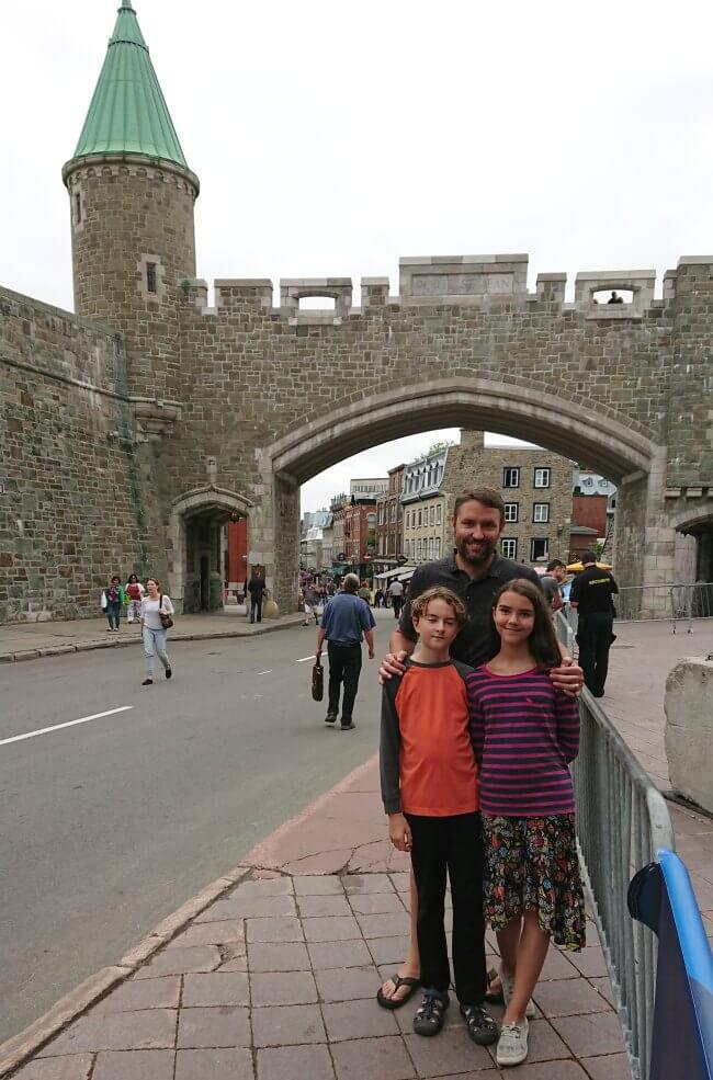 Old Quebec Walls